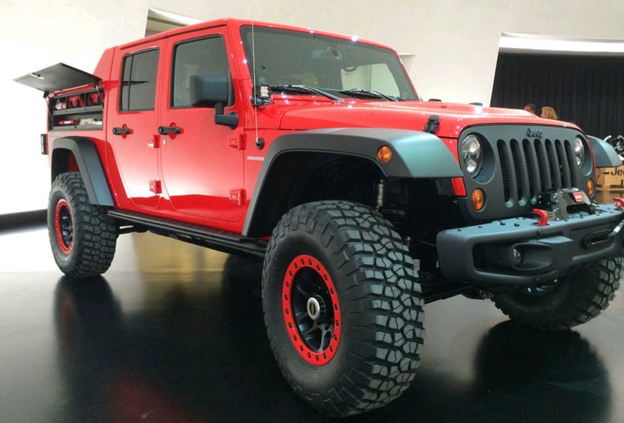 Luxury Jeep Wrangler Red Rock Concept  SEMA 2015  Car News