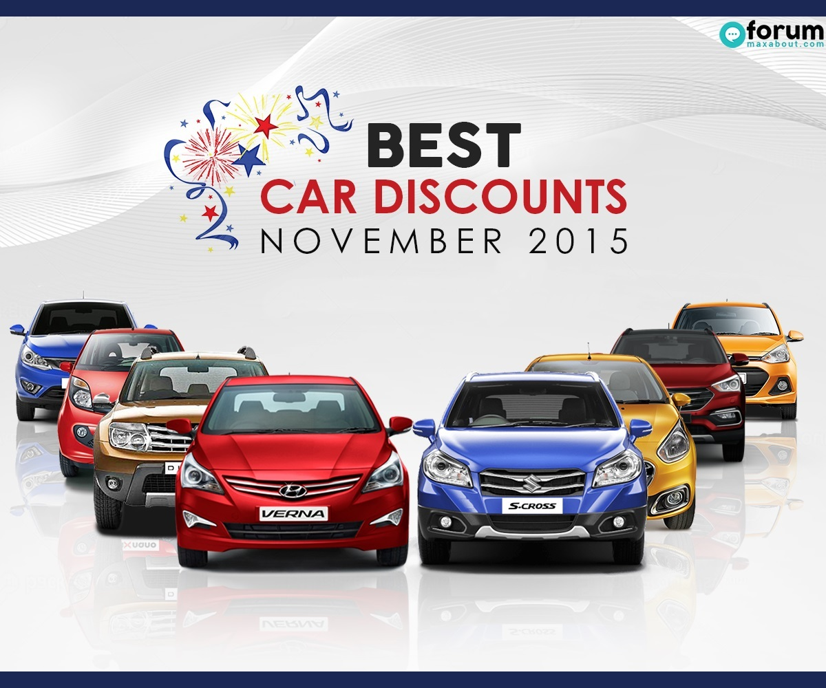Car Discounts & Offers For November 2015