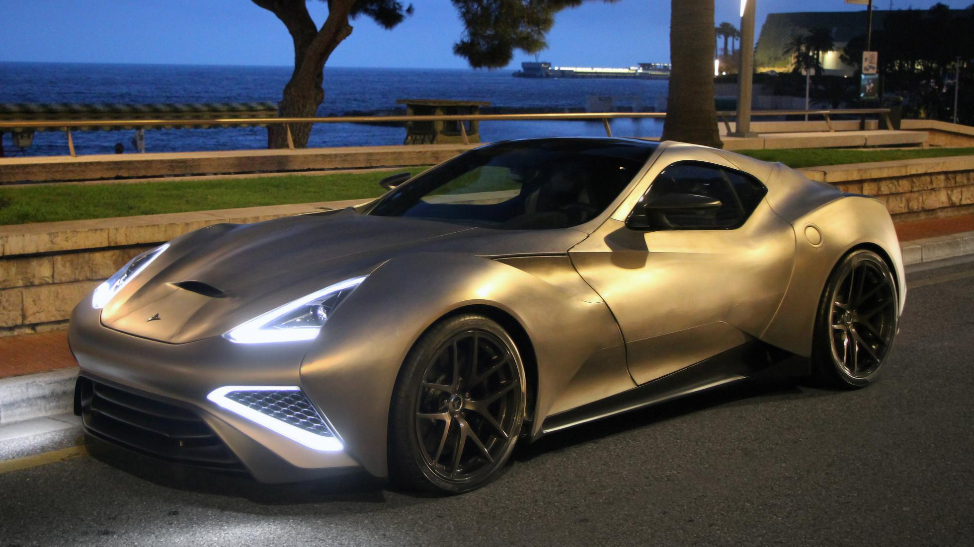 Icona Vulcano: World\'s First Car Made of Titanium - Cars - Maxabout ...
