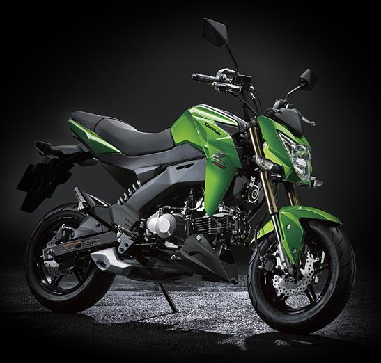 kawasaki z125 z125 pro street fighters officially unveiled bike news maxabout forum. Black Bedroom Furniture Sets. Home Design Ideas