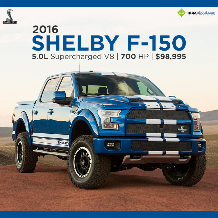 2016 shelby f 150 the 700 hp supercharged truck car news maxabout forum. Black Bedroom Furniture Sets. Home Design Ideas