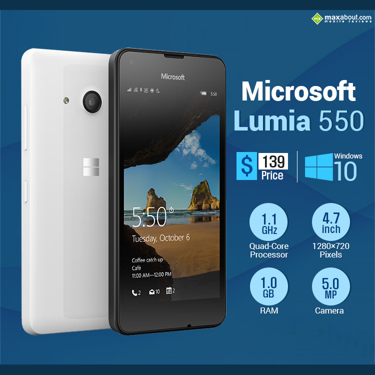 microsoft lumia 550 operating instructions