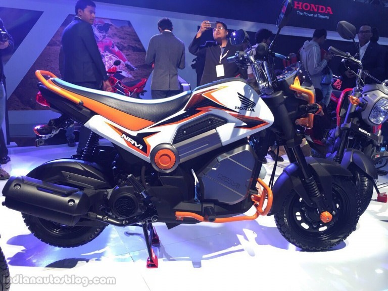 auto expo 2016 honda navi launched at inr 39 500 bike. Black Bedroom Furniture Sets. Home Design Ideas